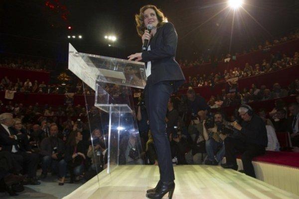 Kandidátka konzervatívcov na starostku Paríža Nathalie Kosciusko-Morizetová.