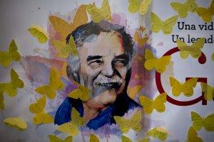 Odkazy pre Gabriela Garcíu Márqueza na počesť jeho pamiatky v mexickom kníhkupectve.
