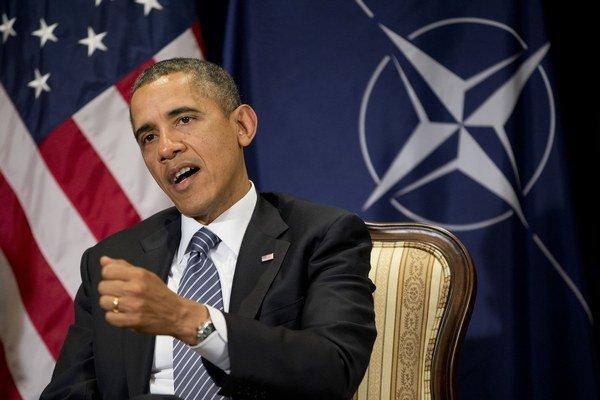 Pri návšteve Belgicka prišiel americký prezident Barack Obama aj do centrály NATO.