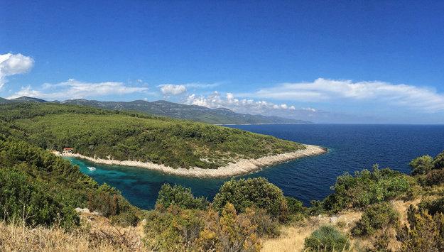 Chorvátsko, ostrov Korčula.