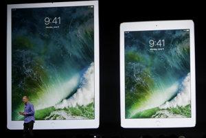 Nový iPad Pro 2017 s obrazovkou s uhlopriečkou 10,5 palca.