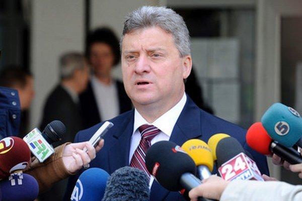 Macedónsky prezident Gjorge Ivanov.