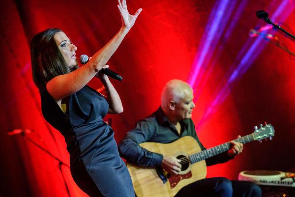 Po druhýkrát na koncerte vystúpili Andrea Zimányiová s Jurajom Burianom.