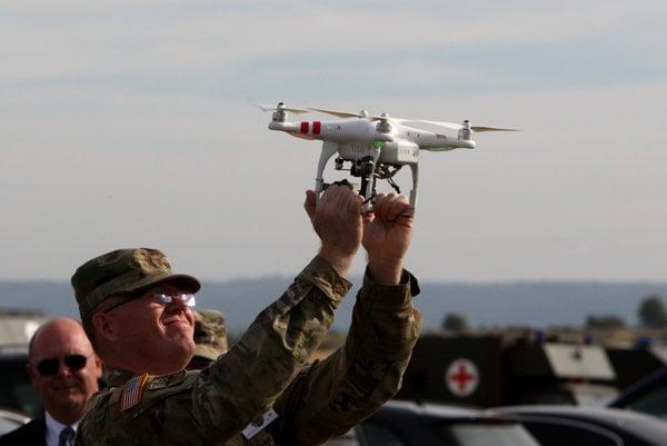 Vojenský dron. (Ilustračná foto)