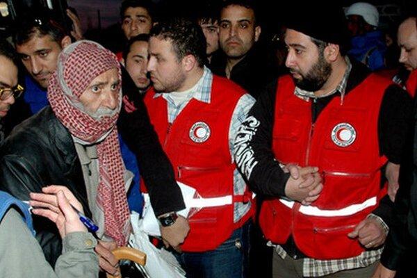 Evakuácia z Homsu.