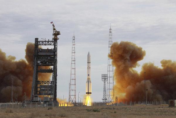 Ruská nosná raketa Proton-M.