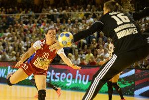 Martina Školková bola najlepšou strelkyňou slovenského výberu.