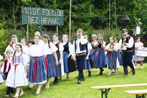 Medzinárodný festival Folklór bez hraníc.