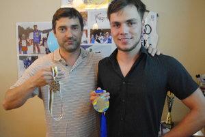 So svojím prvým trénerom Maľcovským.