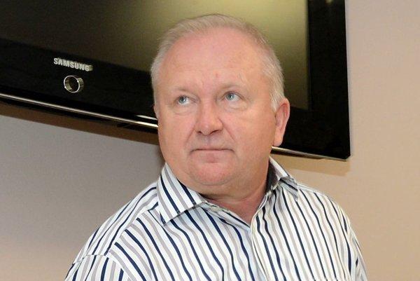 Prezident FC VSS Blažej Podolák.