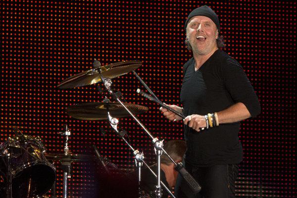 Lars Ulrich zo skupiny Metallica.