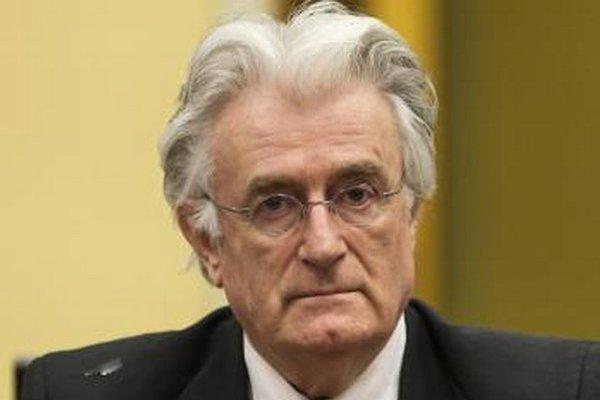Bývalý vodca bosnianskych Srbov Radovan Karadžič.