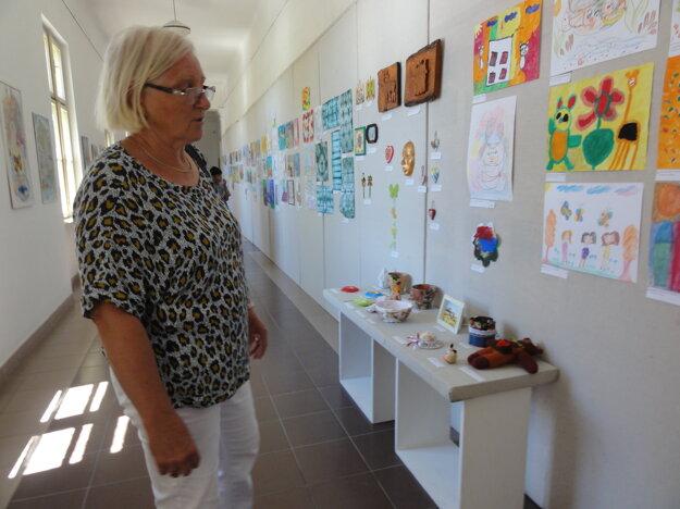 Výstavu nám predstavila Eva Števková.
