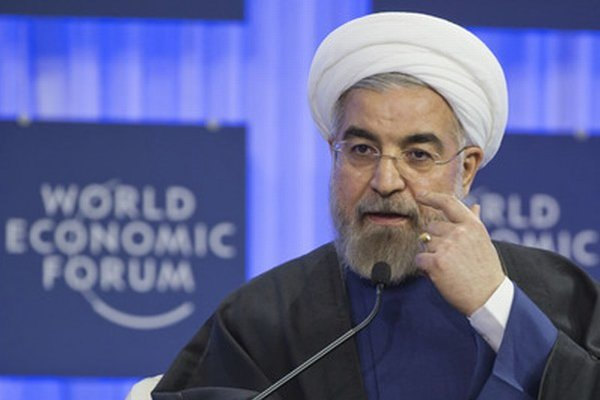 Iránsky prezident Hassan Ruhání.