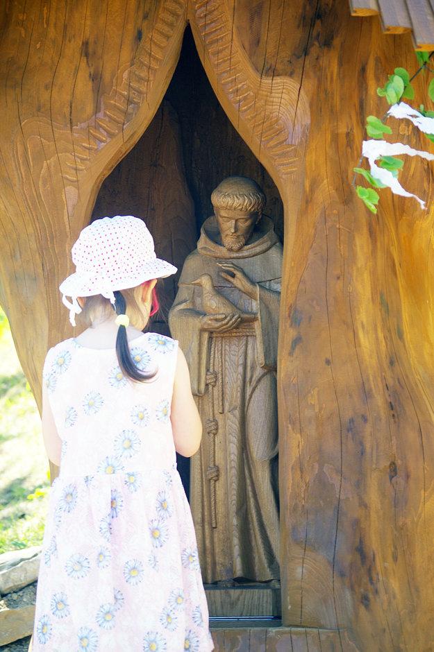 Socha svätého Františka.
