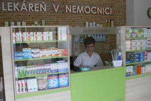 Lieky si tu môže vybrať široká verejnosť.