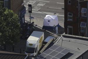 Dodávka zabila v Londýne jedného moslima.
