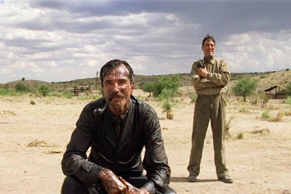 Daniel Day-Lewis vo filme Čierna krv.