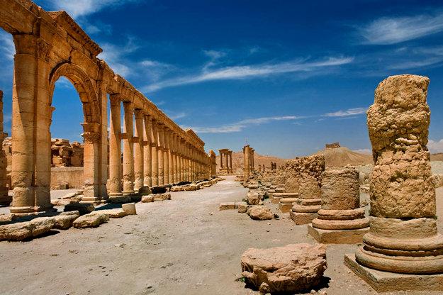 Palmýra.