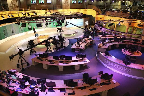 Doplatí na politický spor panarabská televízia al-Džazíra?