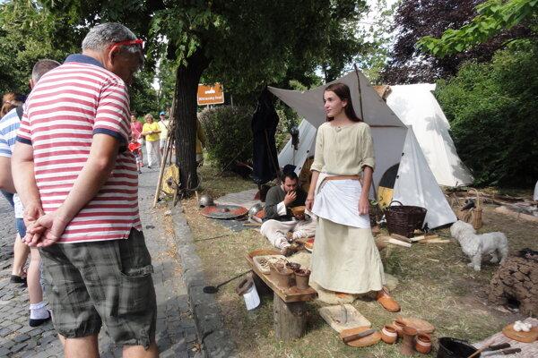 Život v Nitrawe počas vlaňajšieho festivalu.