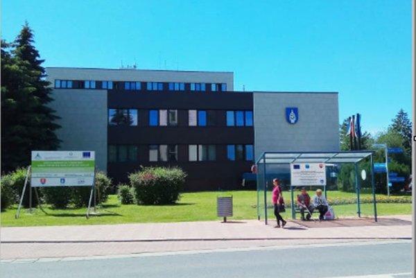 Mestský úrad v Liptovskom Mikuláši.
