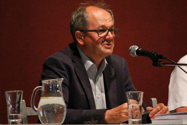Viliam Páleník vystúpili v rámci panelovej diskusie na tému súčasnosť a budúcnosť hornej Nitry.