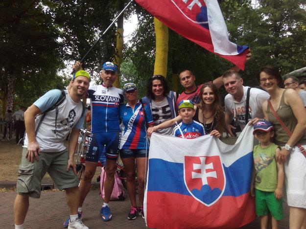 Fanklub Petra Sagana absolvuje tento rok deväť etáp.