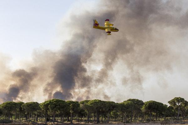 Požiare v Španielsku.