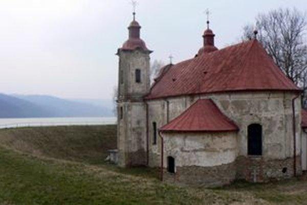 Kostol pri Novej Kelči.