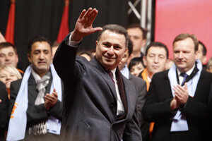 Nikola Gruevski.