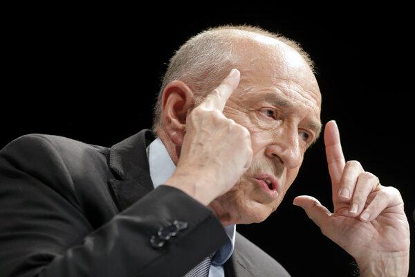 Francúzsky minister vnútra Gérard Collomb.