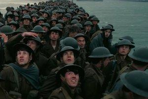 Záber z filmu Dunkirk.