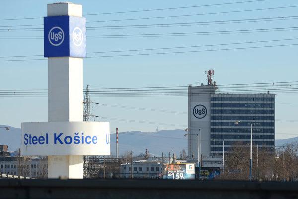 Areál U. S. Steel Košice.