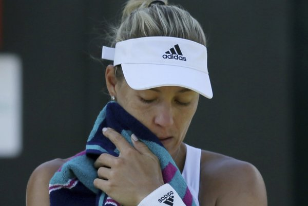 Bývalá svetová jednotka Angelique Kerberová vypadla na US Open už v prvom kole.
