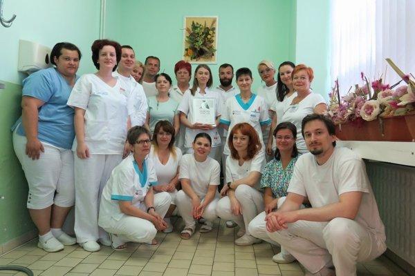 Kolektív zdravotníkov neurologického oddelenia.