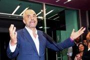 Líder socialistov Edi Rama.