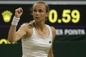 Magdaléna Rybáriková vo Wimbledone dosiahla životný úspech.