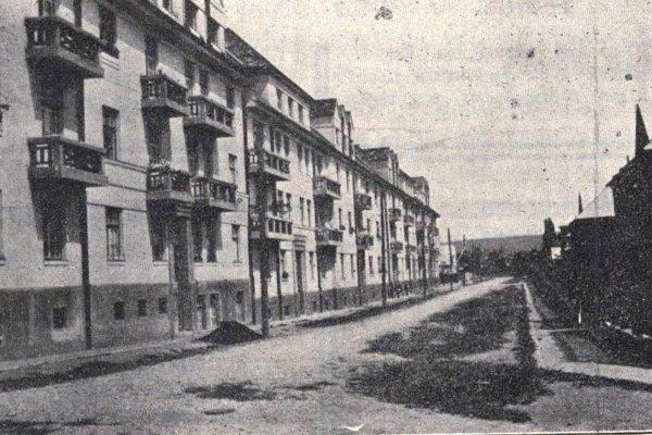 Poštová kolónia v 30. rokoch 20. storočia.