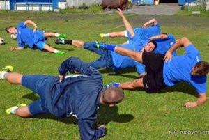 Na tréningu Fomatu.