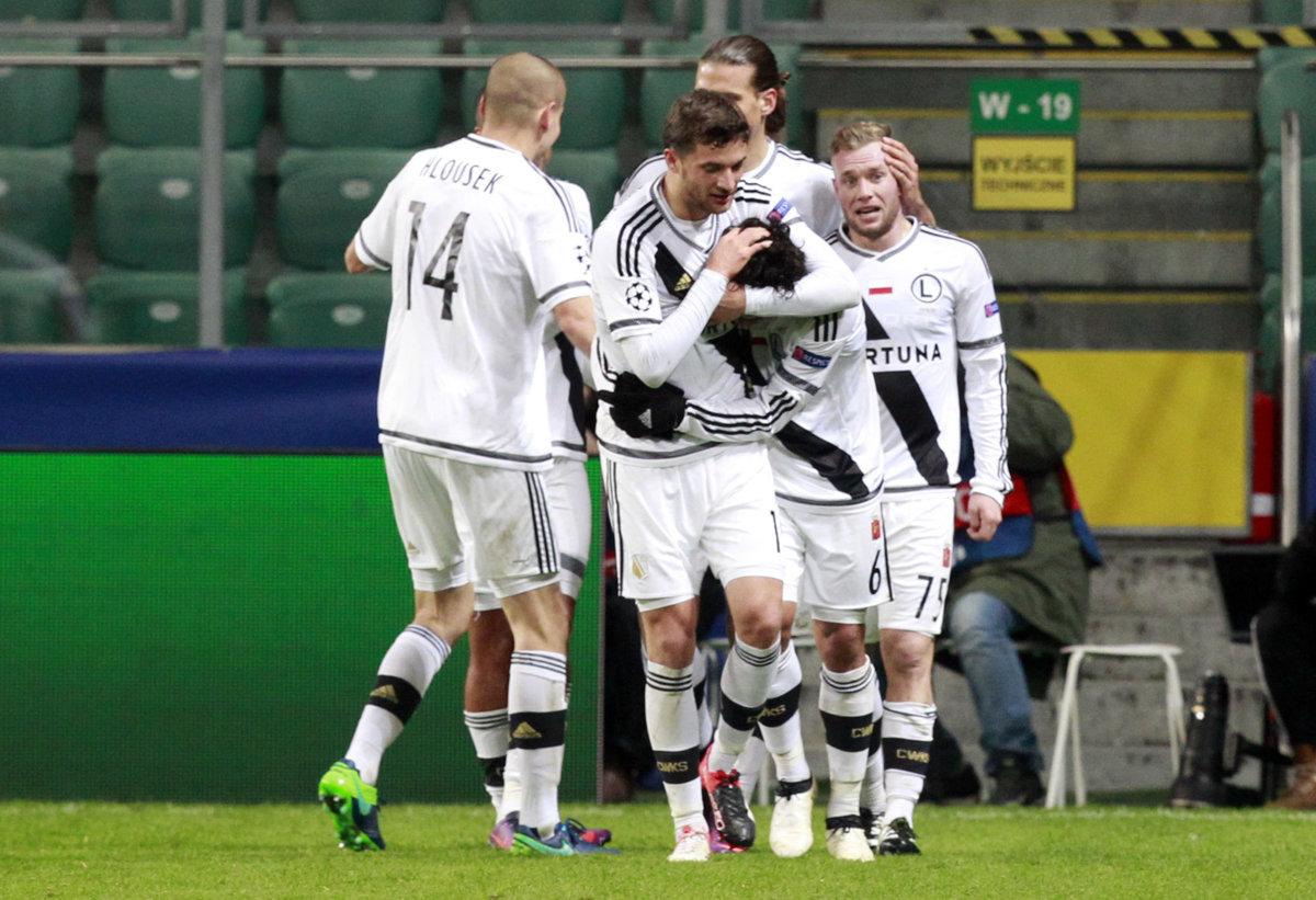 d5f0960b47029 Legia Varšava má po trojgólovom víťazstve veľkú šancu postúpiť ďalej.