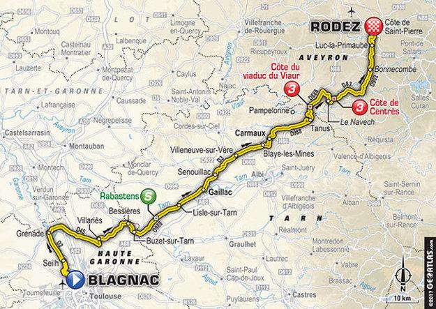 14. etapa (mapa).