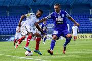 Romulo Silva v drese FK Senica