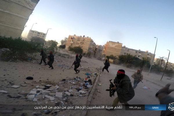 Útok islamistov na policajné pozície v Ariši v januári 2017