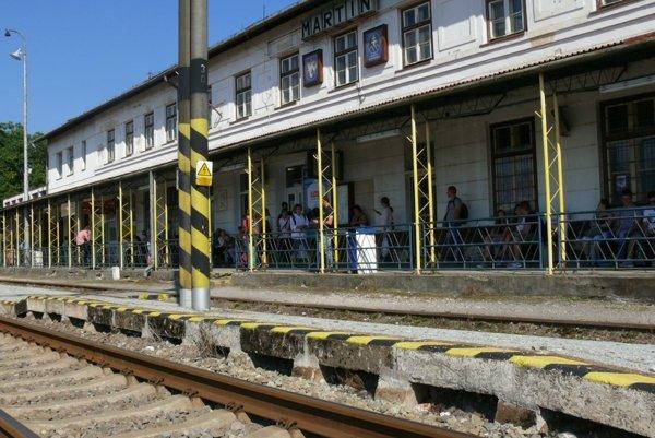 Mimoriadne vlaky z Varína končia aj v Martine.