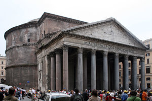 Rímsky Panteón.