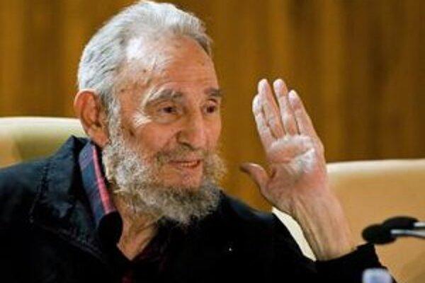 Bývalý kubánsky prezident Fidel Castro.
