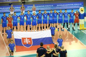 Volejbalisti Slovenska.