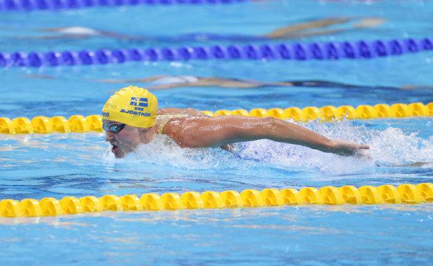 Sarah Sjöströmová plávala fantasticky.