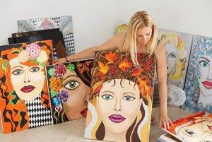Anna Sovany a jej diela.